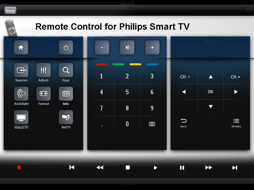 Philips Remote Control app